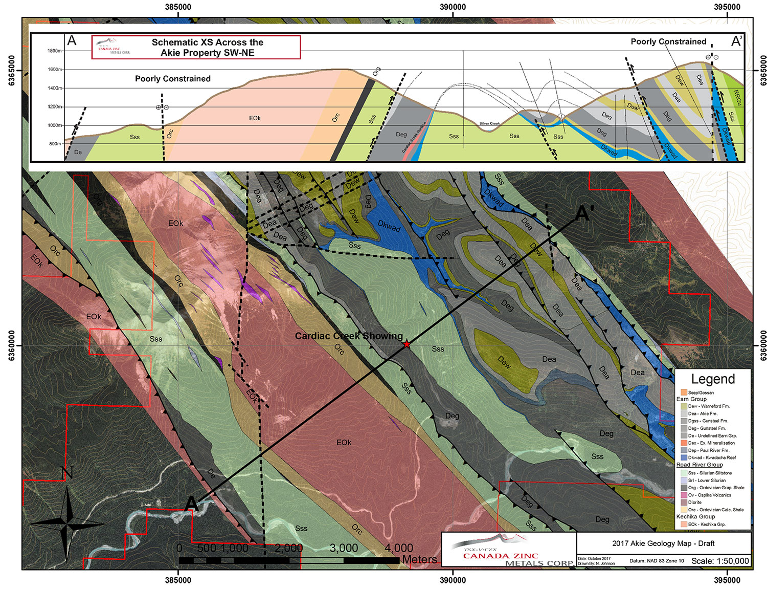 Geology and Mineralisation